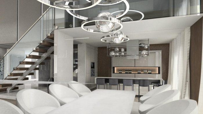 Mieszkanie typu loft w Łodzi