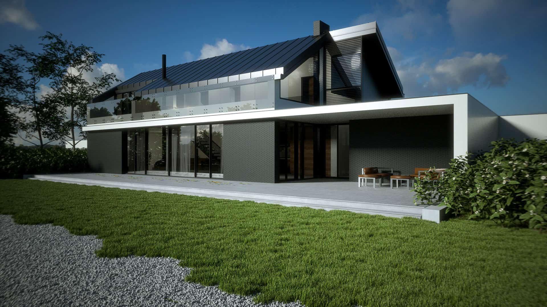 Projektowanie domów Warszawa Bauart Studio