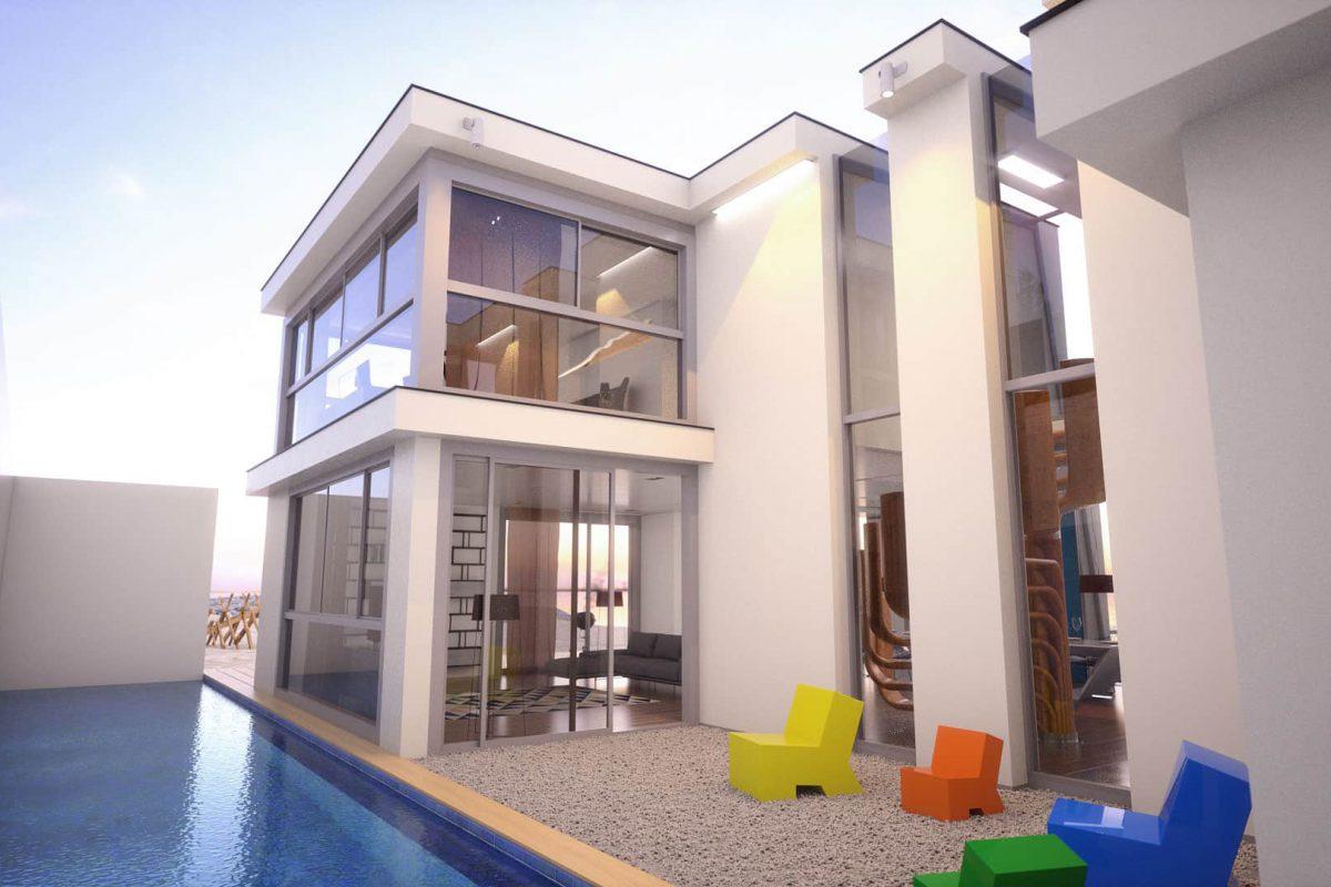Waterfront House Pojezierze Suwalskie - projekt domu