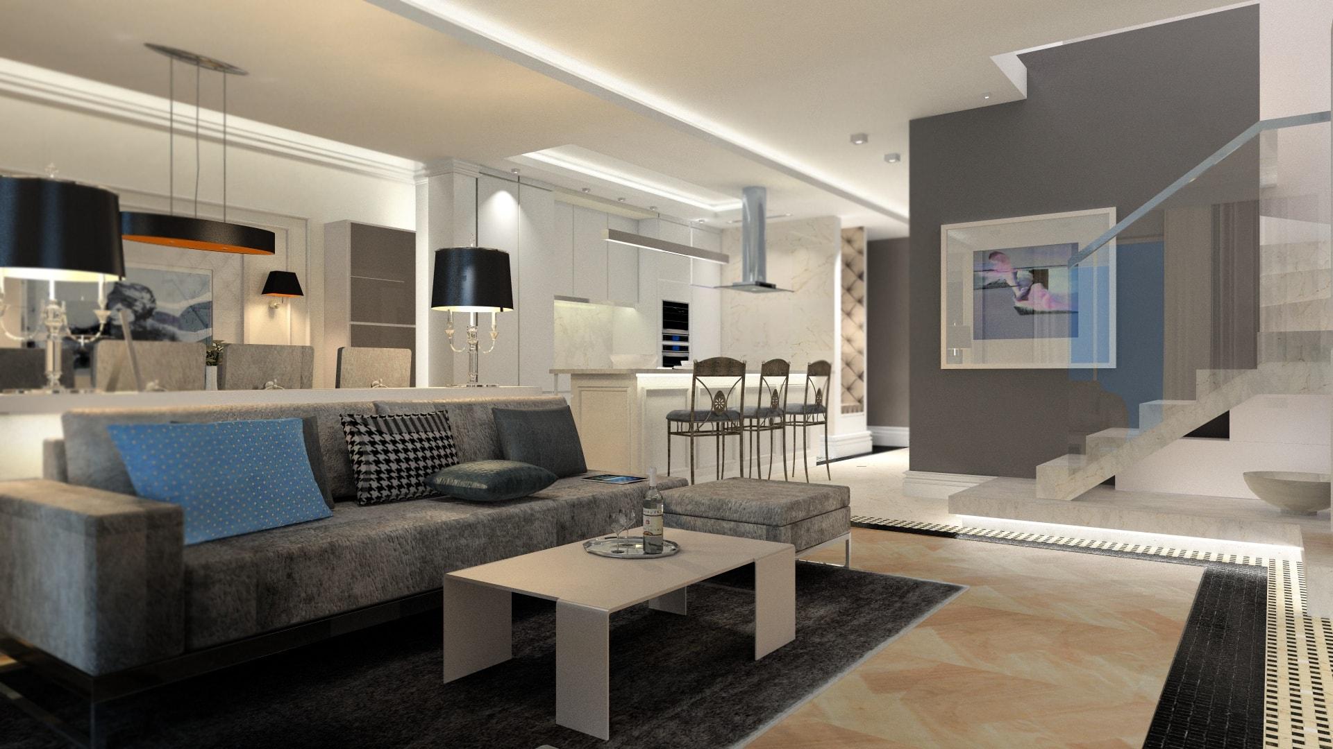 Nowoczesny apartament Wilanów