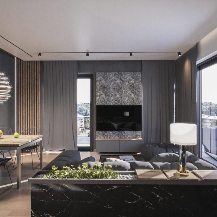 apartament w drewnie warszawa